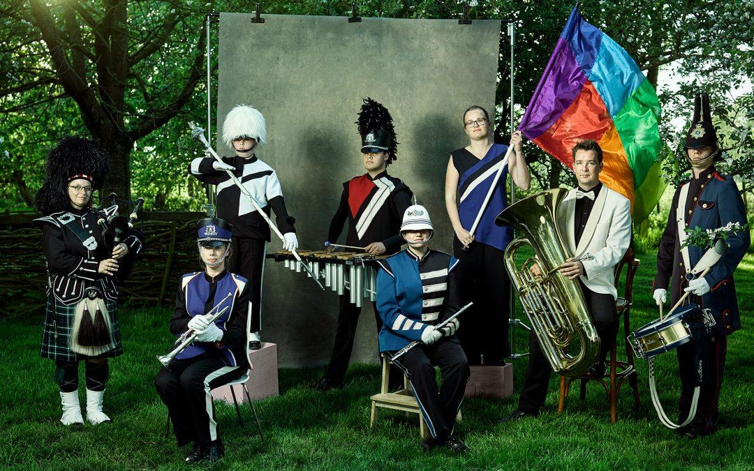 Meer dan 2018 muzikanten zetten binnenstad van Leeuwarden op z'n kop tijdens Grutsk